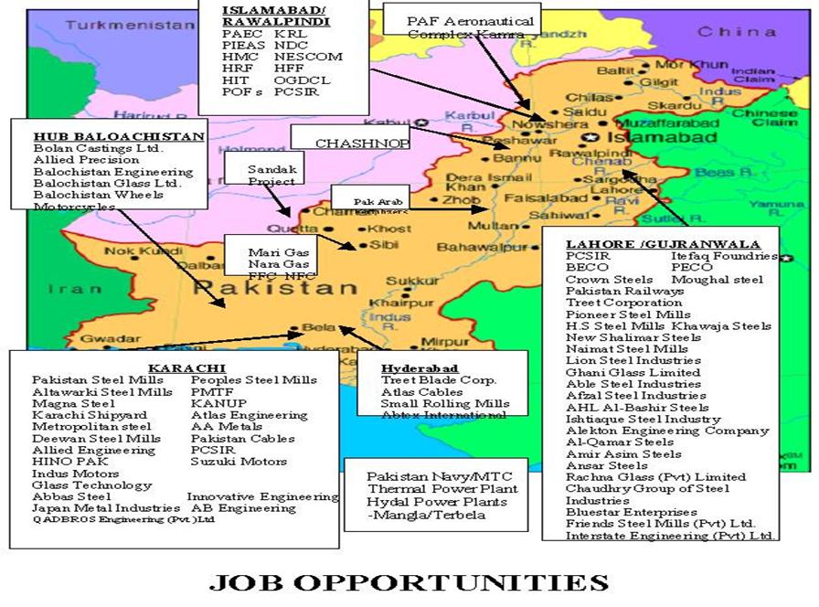 Job Opportunities   NEDUET Department of Metallurgical